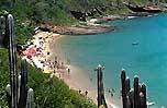 praia de joao fernandes em Buzios rj brasil