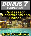 Aluguel de casa e apartamentos em Buzios - preços baixos para baixa temporada - buzios 50% de desconto - descontos em Buzios